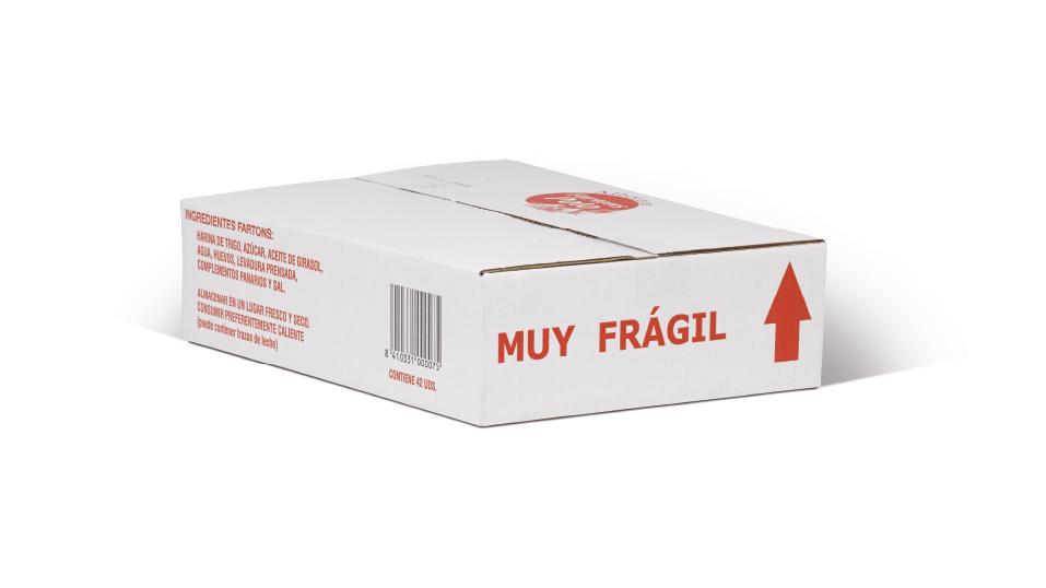 Caja granel x 42 unidades